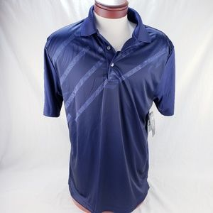 Men's Athletic Golf Polo by Ben Hogan Dark Blue